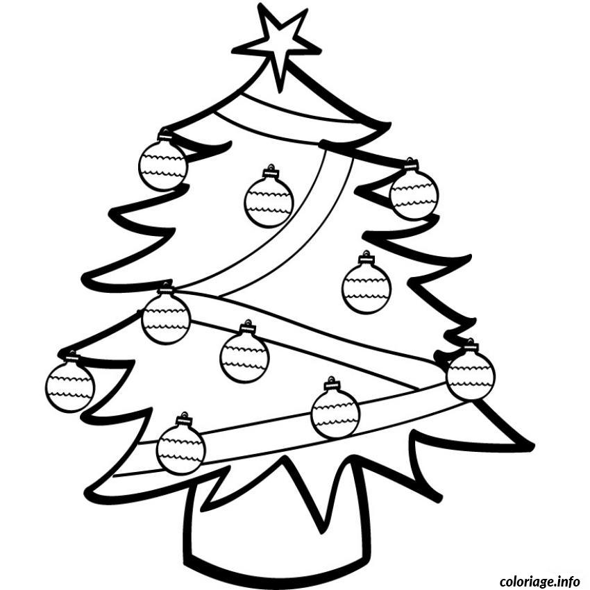coloriage sapin de noel a imprimer dessin. Black Bedroom Furniture Sets. Home Design Ideas