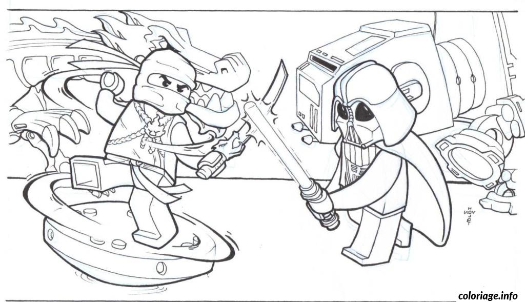 Coloriage Lego Ninjago Printable Coloring Pages Dessin à Imprimer