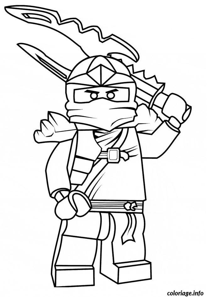 Dessin ninjago dessin imprimer Coloriage Gratuit à Imprimer