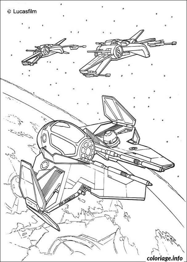 Dessin star wars escadron de la republique Coloriage Gratuit à Imprimer