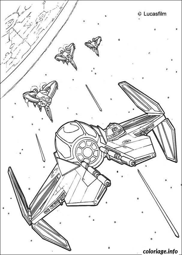 Dessin galaxie de star wars 7 Coloriage Gratuit à Imprimer