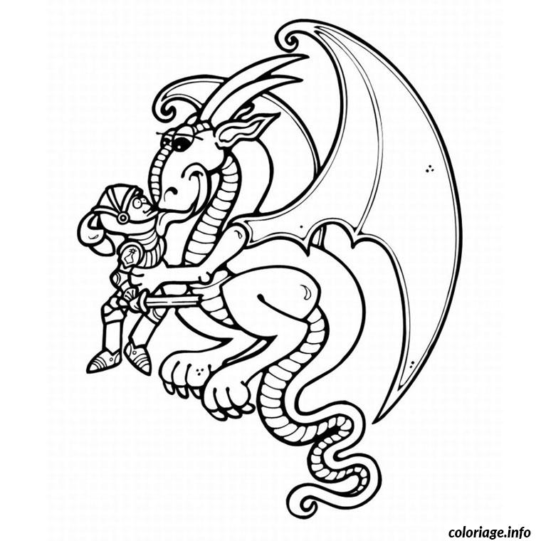 Coloriage dragon shrek dessin - Coloriage shrek ...