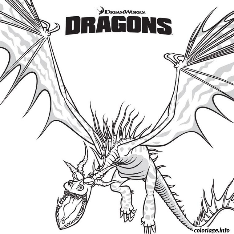 Coloriage Dragon Film Dessin Dragon A Imprimer