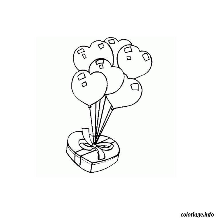 Coloriage coeur anniversaire dessin - Coeur coloriage ...