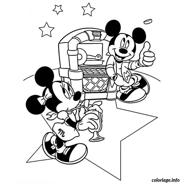 Coloriage Anniversaire Mickey A Imprimer.Coloriage Anniversaire Mickey Jecolorie Com