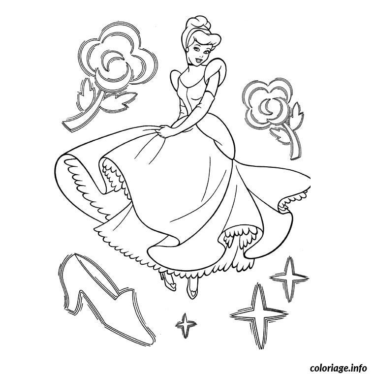 Coloriage anniversaire princesse dessin - Princesse disney a colorier ...