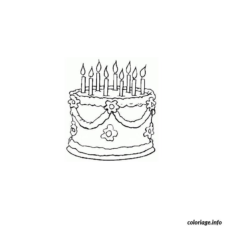 Coloriage bon anniversaire maman dessin - Joyeux anniversaire a colorier ...