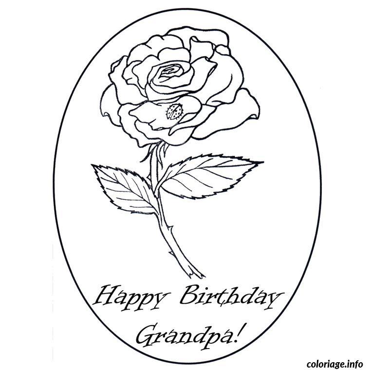 Coloriage bon anniversaire papy - Dessin de bon anniversaire ...