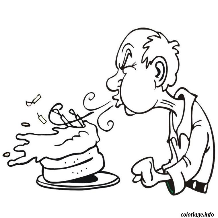 Coloriage joyeux anniversaire papy dessin - Dessin grand pere ...