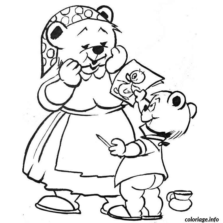 anniversaire maman coloriage dessin 2101