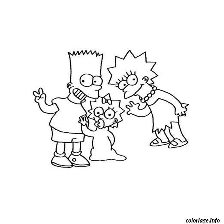 Coloriage simpson anniversaire dessin - Simpson anniversaire ...