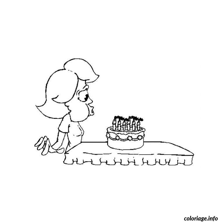 Coloriage anniversaire 6 ans dessin - Coloriage 6 ans ...