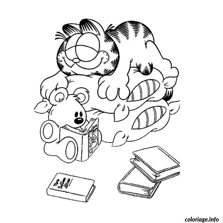 Coloriage Garfield Anniversaire Dessin Anniversaire A Imprimer