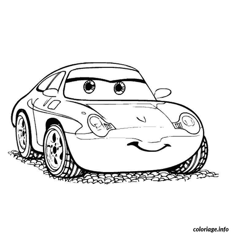 Coloriage anniversaire cars dessin - Coloriages de cars ...