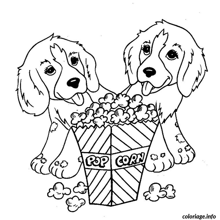 Coloriage Chien Springer.Choisi Coloriage Chien Cavalier King Charles Coloriage A