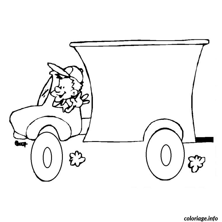 Coloriage camion toupie - Dessin de toupie ...
