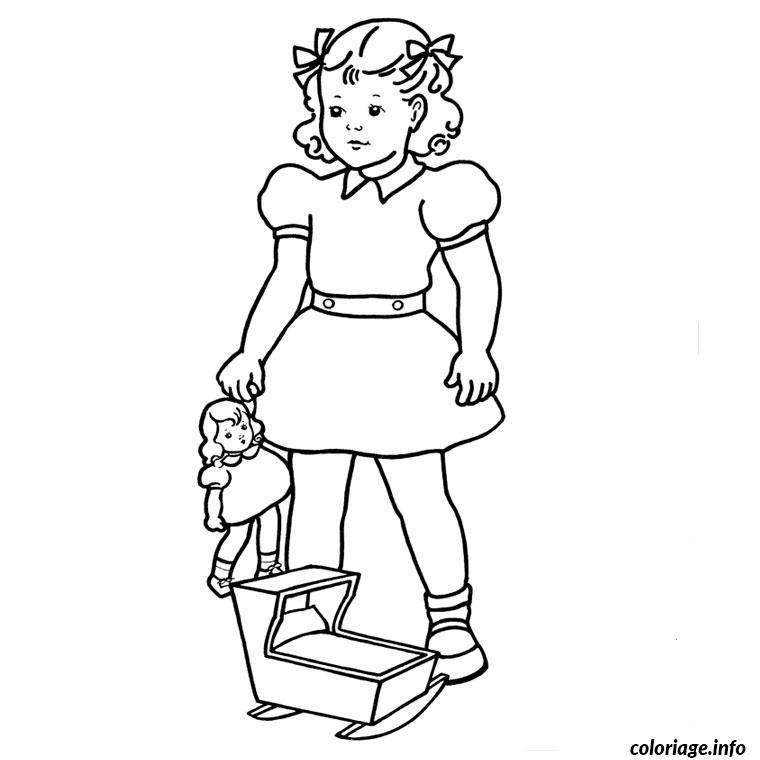 Coloriage Pour Fille dessin