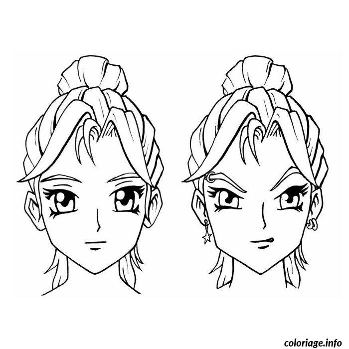 Manga Dessin Fille Simple