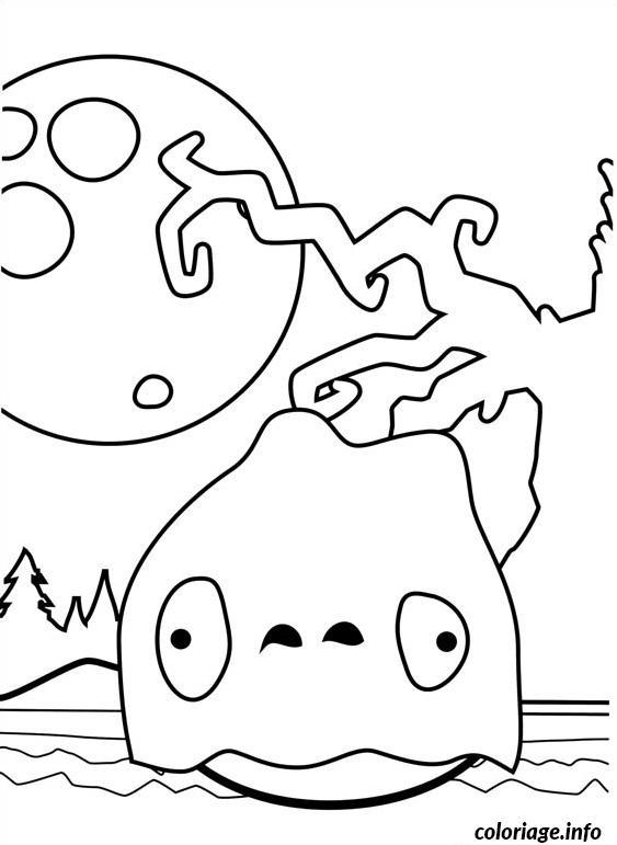 Coloriage angry birds halloween dessin - Angry birds gratuit en ligne ...