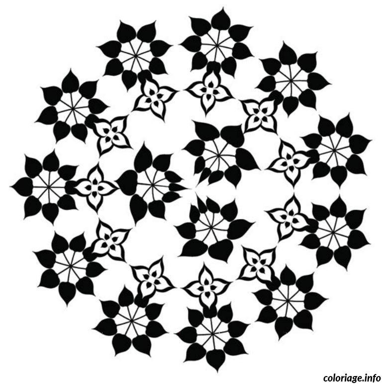 Coloriage mandala fleur 2 dessin - Fleur coloriage a imprimer ...