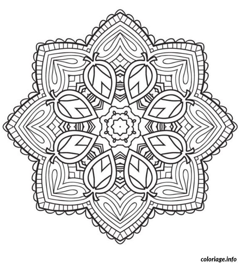 Coloriage mandala etoile 2 dessin - Dessin a imprimer etoile ...