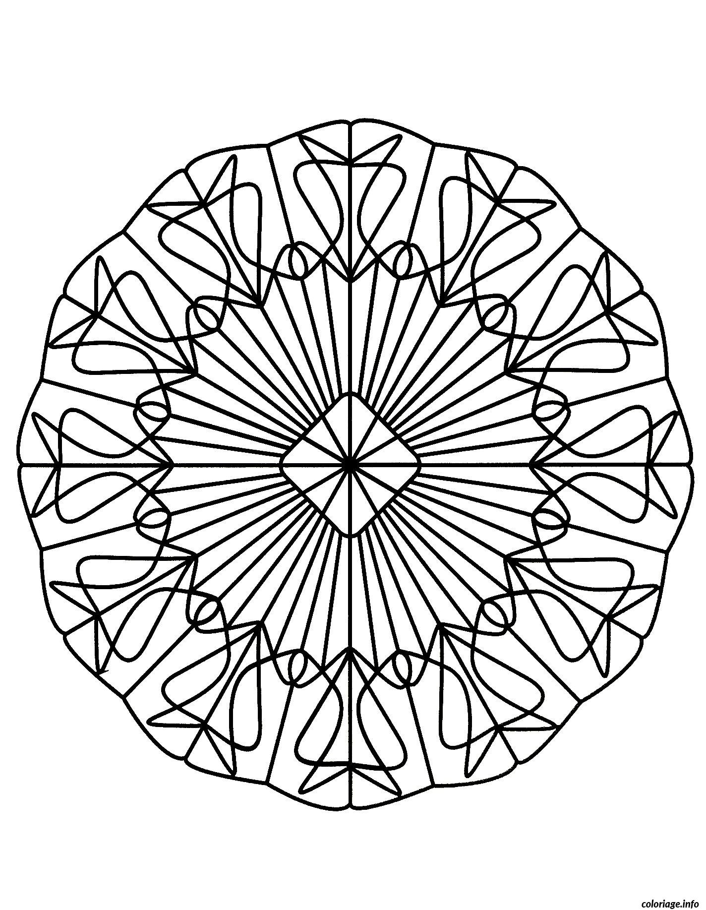 Coloriage mandalas to download for free 20 dessin - Coloriages mandalas ...