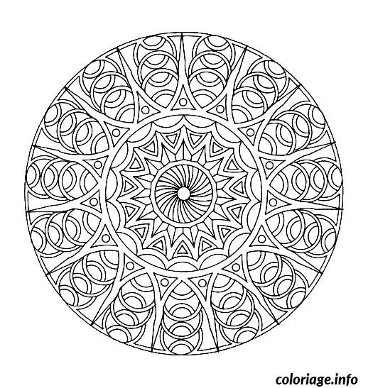 Coloriage Coloring Free Mandala Difficult Adult To Print 8 Dessin à Imprimer