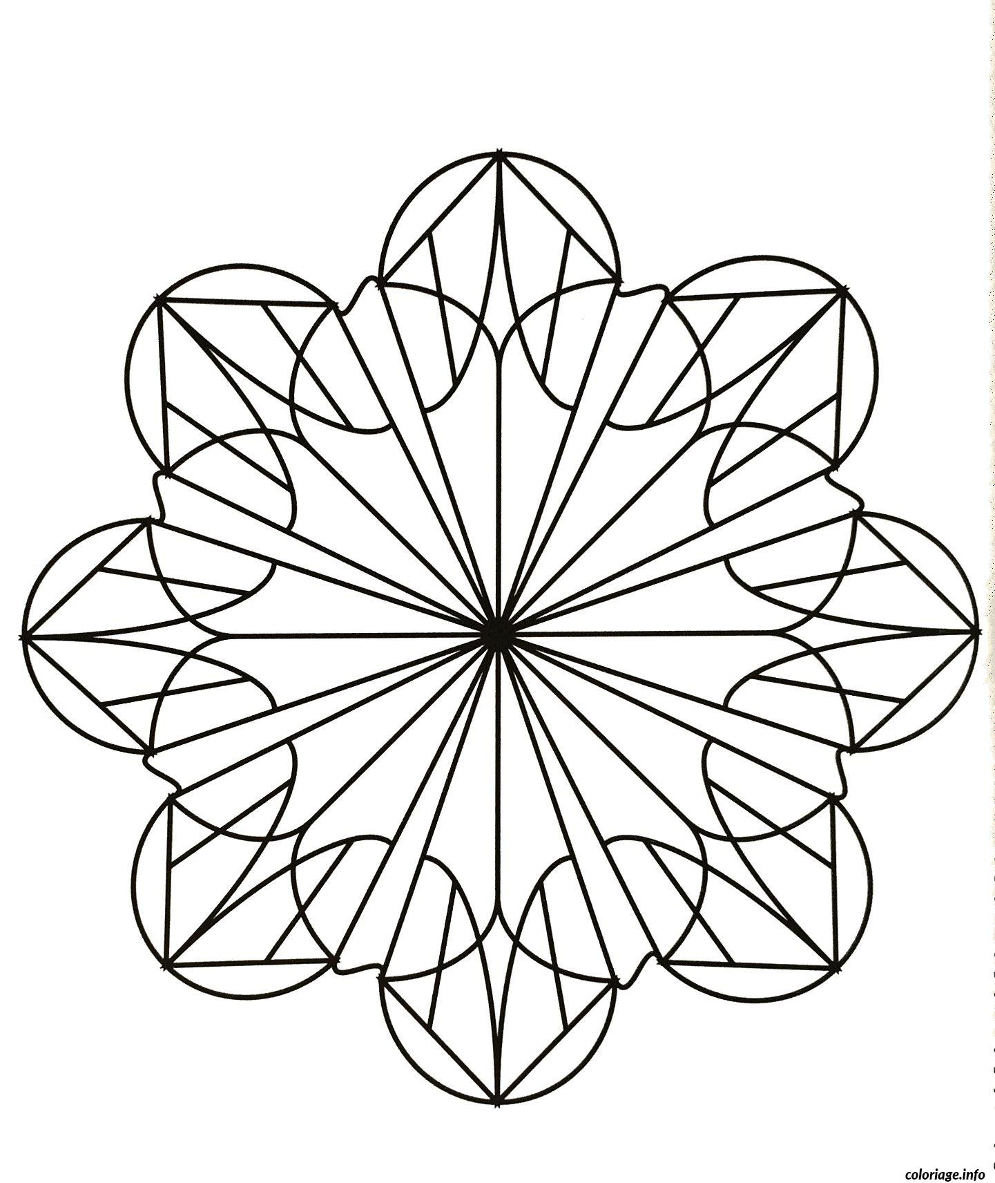 Coloriage Mandalas To Download For Free 19 Dessin à Imprimer