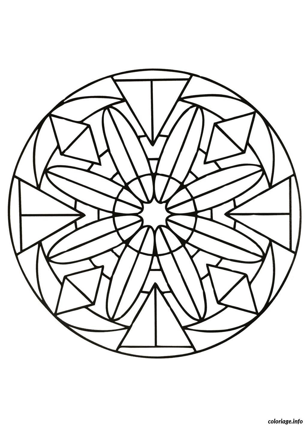 Coloriage mandalas to download for free 9 dessin - Art coloriage ...