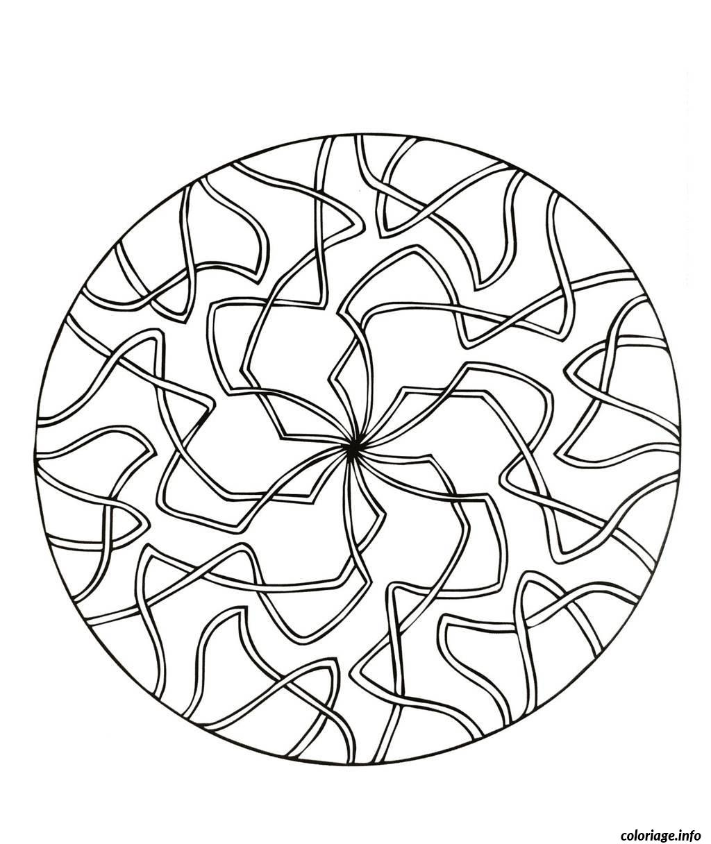 Coloriage mandalas to download for free 15 dessin - Coloriage simple ...