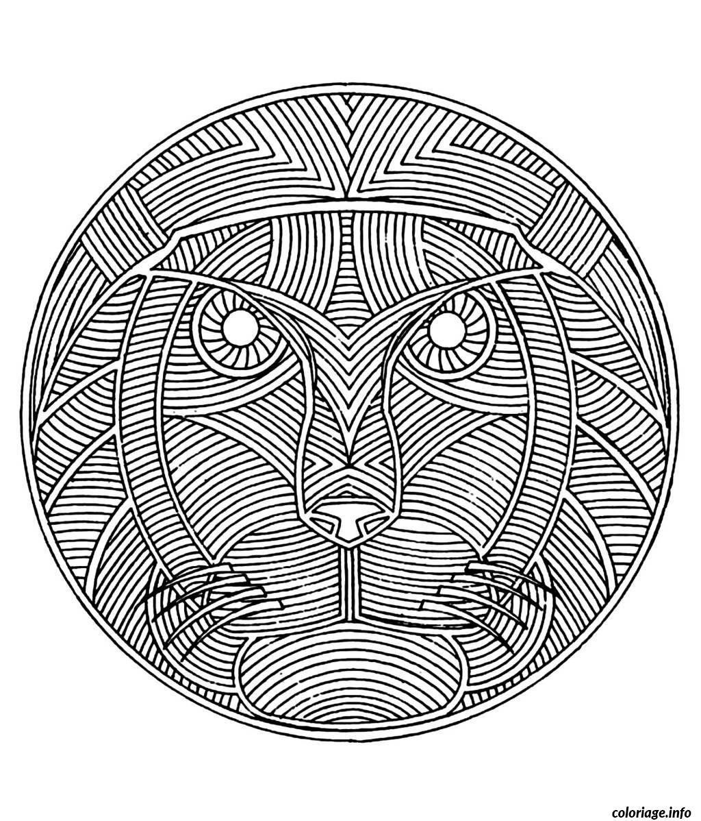 Coloriage coloring free mandala difficult adult to print - Coloriage prin ...