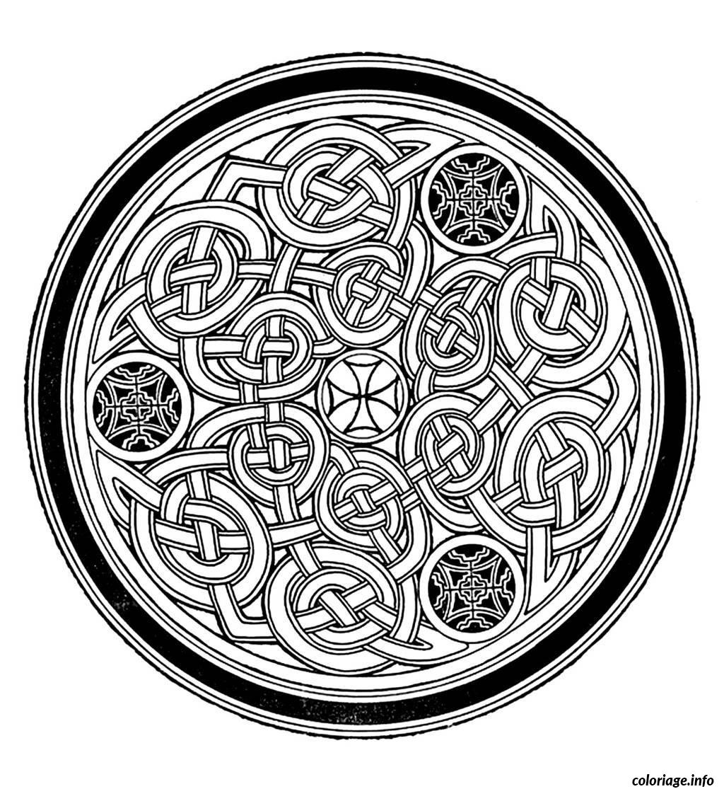 Coloriage Coloring Free Mandala Difficult Adult To Print 7  Dessin à Imprimer