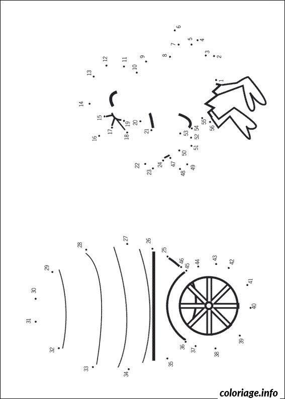 Coloriage 3 points a relier 116 dessin - Dessin a point a relier ...