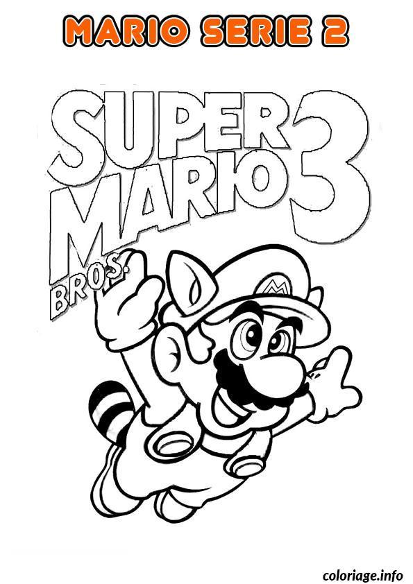 Coloriage Mario Bros Nintendo 3 Jecolorie Com