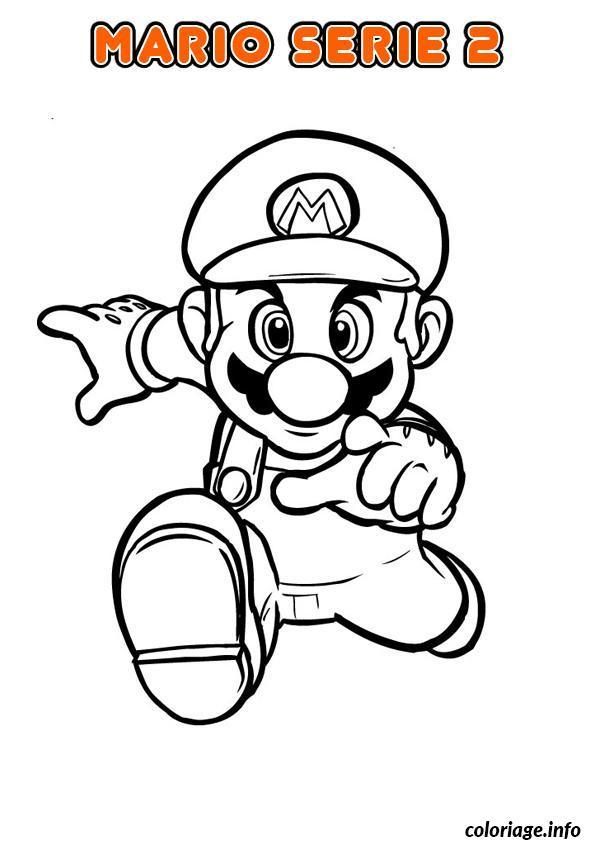 Coloriage Mario Bros Nintendo 5 Jecolorie Com