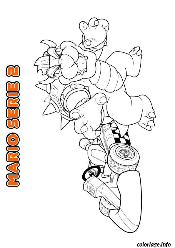 Coloriage mario bros nintendo 8 - JeColorie.com