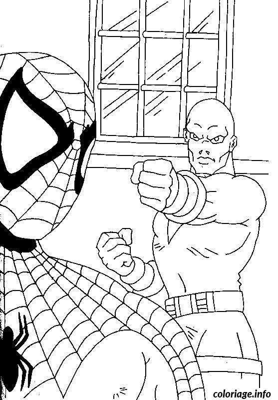 Coloriage Spiderman 169 Dessin à Imprimer