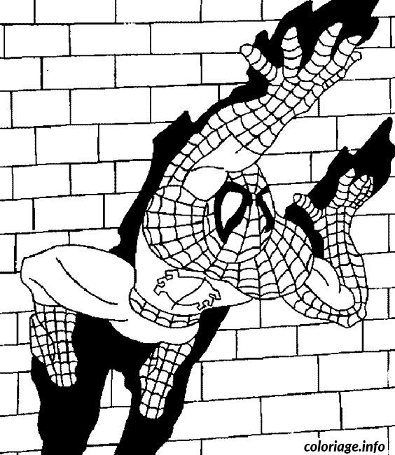 spiderman 15 coloriage 2707