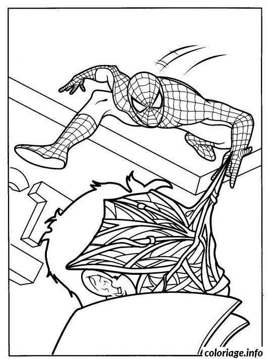 Coloriage spiderman 276 dessin - Coloriage spiderman 1 ...