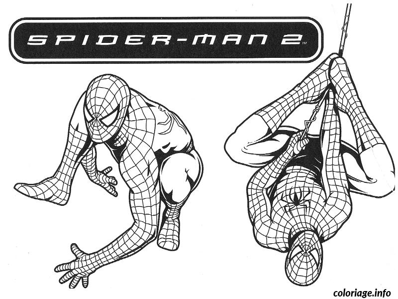Coloriage Spiderman 144 Dessin à Imprimer