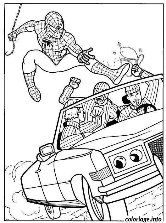 Coloriage spiderman 28 dessin - Coloriage spiderman 1 ...