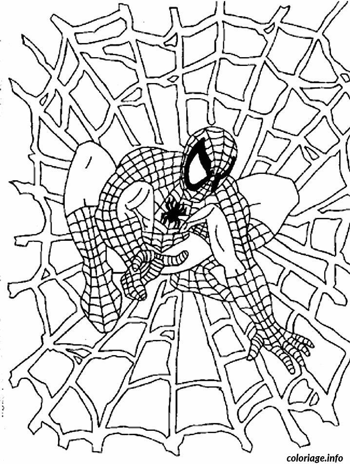 Spiderman 161 Super Heros Coloriages A Imprimer