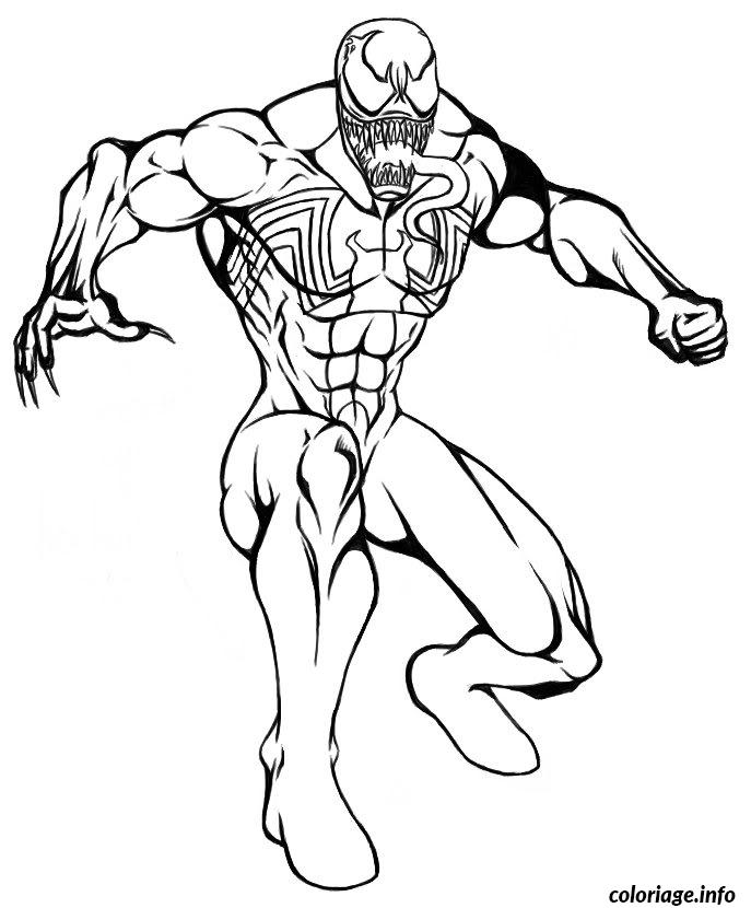 Coloriage spiderman 232 dessin - Coloriage en ligne superman ...