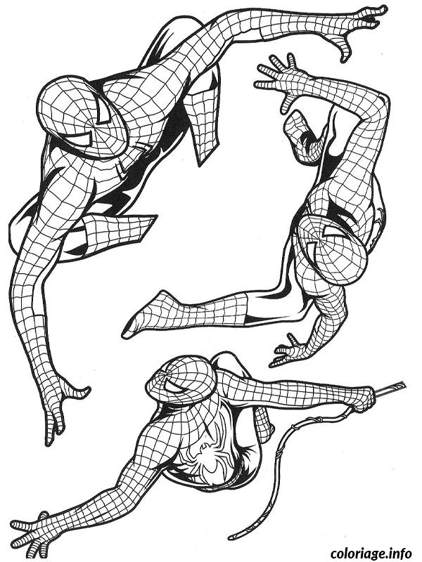 Coloriage Spiderman 37 Dessin à Imprimer