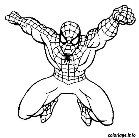 Coloriage spiderman 242 - Coloriage spiderman imprimer ...