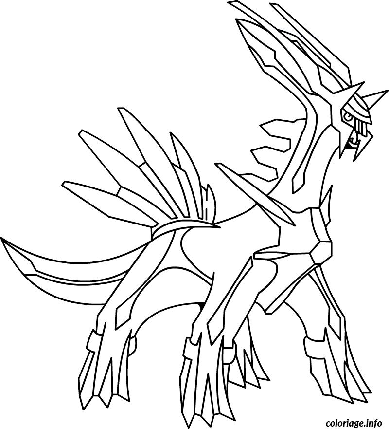 Coloriage pokemon x ex 10 - Coloriages pokemon ex ...