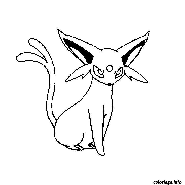 Dessin pokemon x ex 14 Coloriage Gratuit à Imprimer