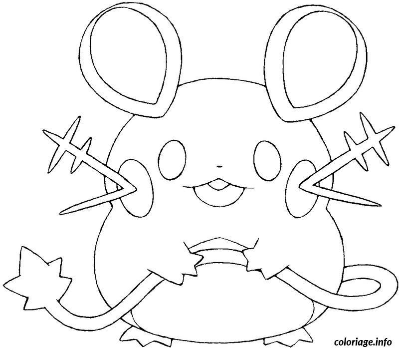 Dessin pokemon x ex 2 Coloriage Gratuit à Imprimer
