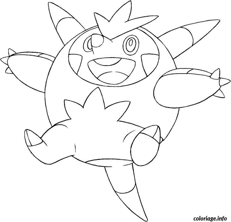 Coloriage pokemon x ex 4 dessin - Coloriages pokemon ex ...