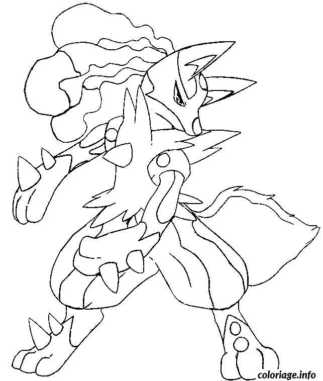 Dessin pokemon x ex 13 Coloriage Gratuit à Imprimer